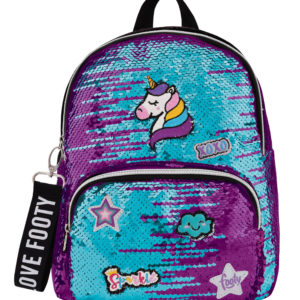 Mochila Loving Patches lila-tuquesa