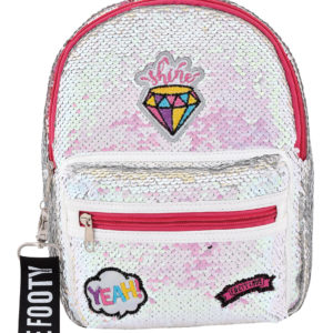 Mochila Loving Diamante blanca