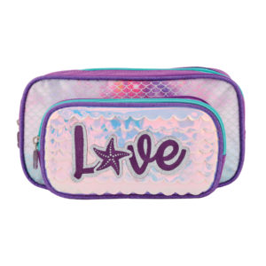 Estuche Love malva | Doble