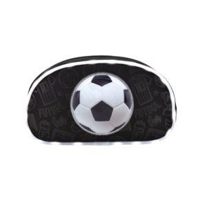 Estuche-Neceser Soccer negro